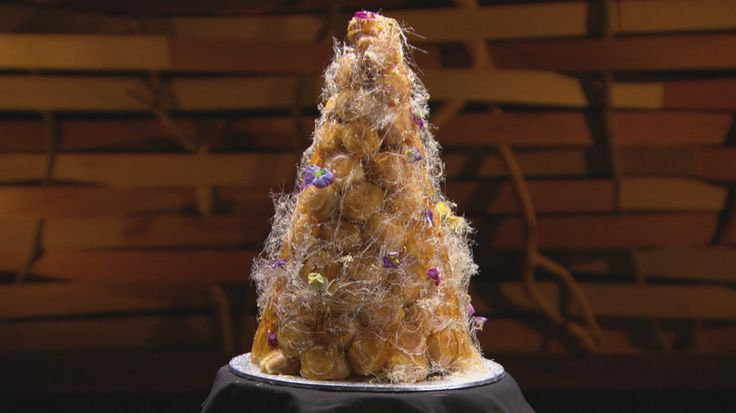 THE Masterchef Australia Croquembouche 2014.  I'm determined to make this one day.