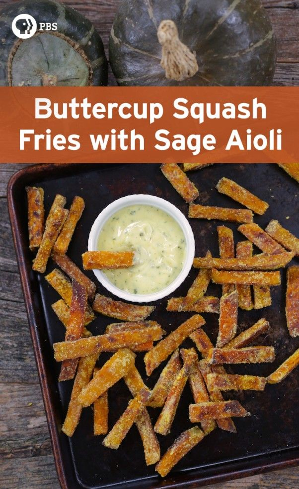 These buttercup squash fries are very similar in taste and texture to sweet potato fries.