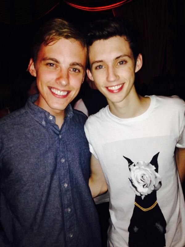 Troye Sivan and Jon Cozart (thanks to Sophie for reminding me of his name!)