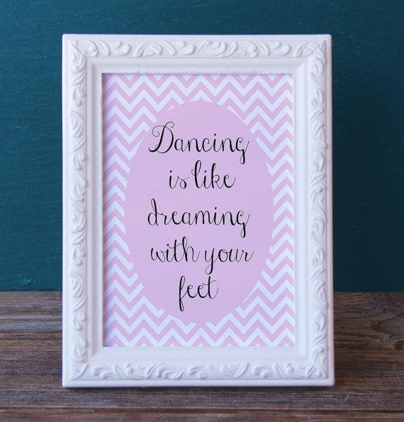 Printable Dance Gift BUNDLE - Present for Dancer -Dance Digital Print - Dance Print Keepsake  - Dance Recital Gift - End of Year Present by DancinDarling