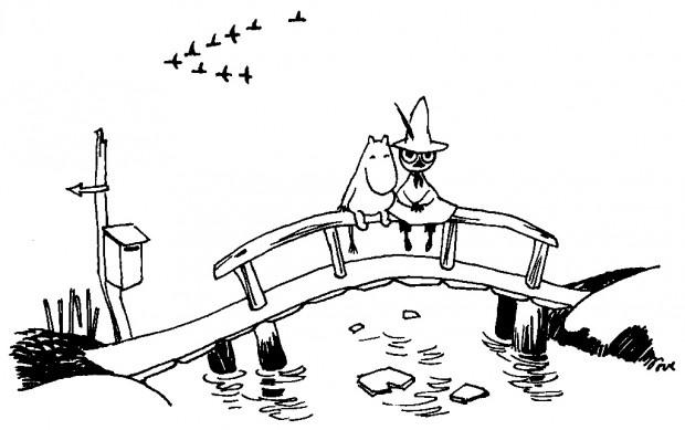 Troll de vie avec Moomin. « Moomin et le chapeau de Magicien », de Tove Jansson, aux éditions du Petit Lézard.