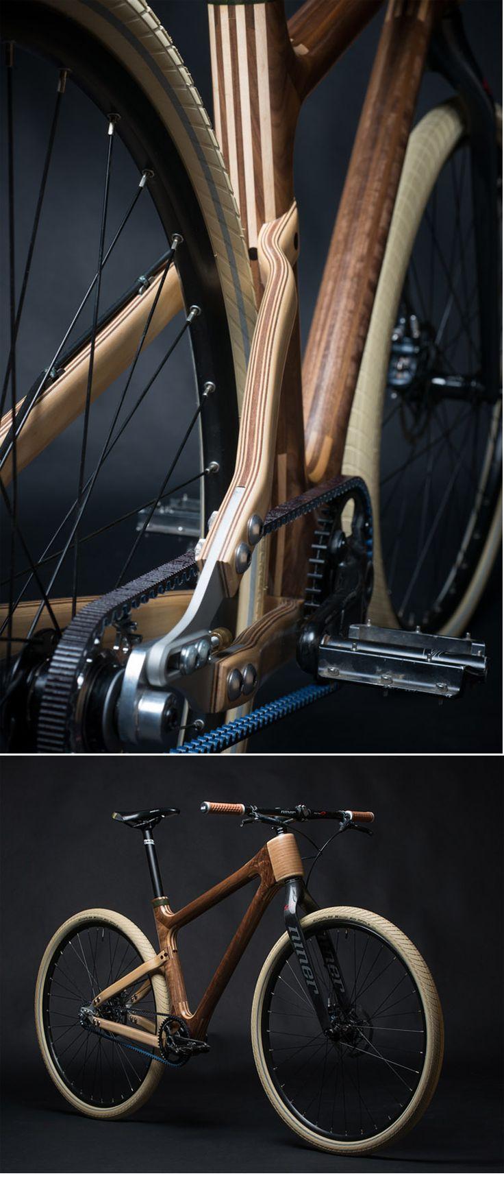 AnalogOne.One - Custom build wooden frame bike ( http://www.grainworkswoodart.com/shop/analogoneone-custom-build )