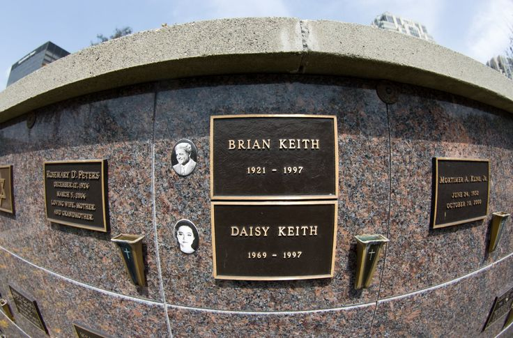 Daughter Daisy Keith jumped out of a building, and actor Brian Keith shot himself 10 weeks later after battling cancer    /