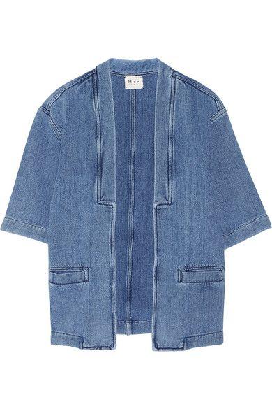 MiH Jeans- Denim kimono jacket  #MiHJeans