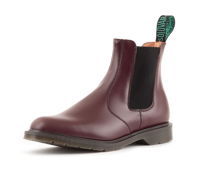 Solovair Dealer Boot in Oxblood