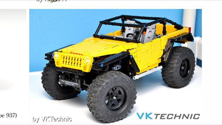 lego technic jeep jk lego technic vehicles lego lego. Black Bedroom Furniture Sets. Home Design Ideas