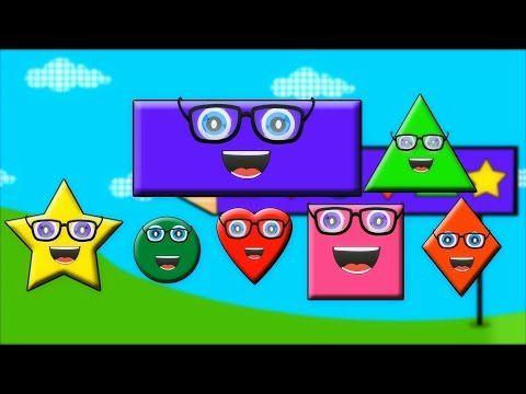 La chanson des formes | Shapes Song - YouTube