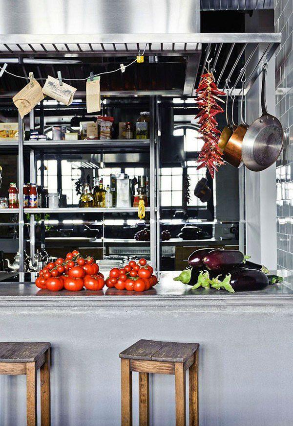 Küche Industrie Inspiriert Pendelleuchten | BB_KITCHEN | Pinterest | Industrial  Style, Industrial And Industrial Chic