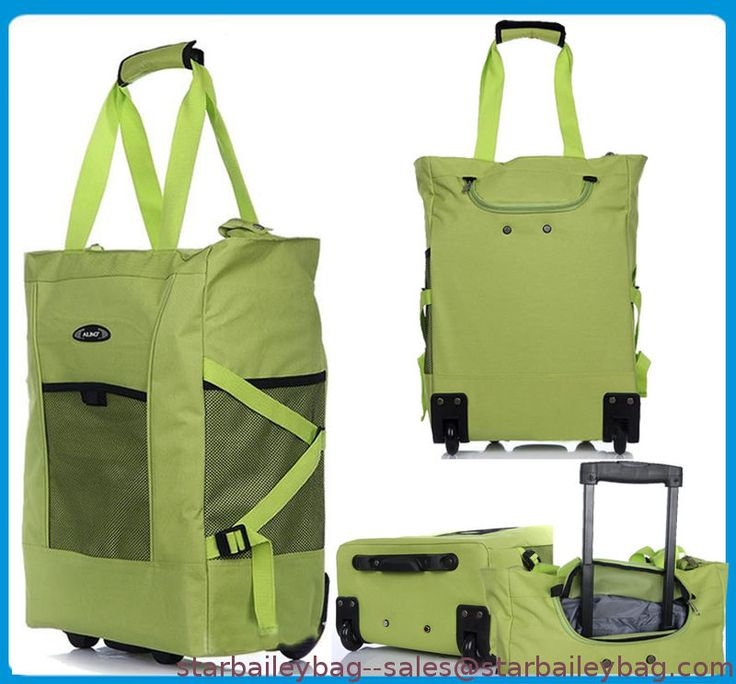 Shopping Trolley Folding Cart Grocery Rolling Bag Laundry Wheels Reisenthe Acc from China---www.starbaileybag.com