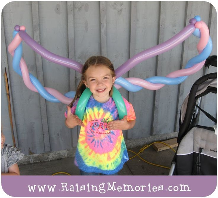 Twisted balloon wings #balloon #twisting