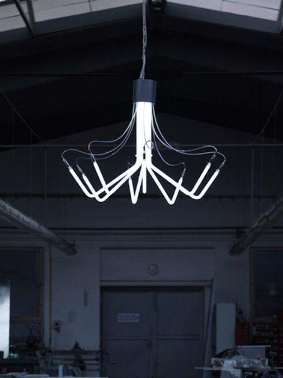 | LIGHTING | Modern Neon Chandelier