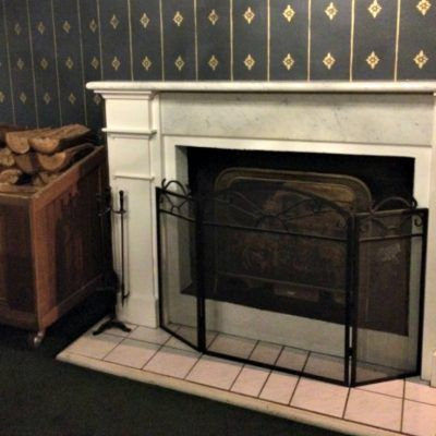 Berida Hotel Bowral Southern Highlands NSW fireplace in guest lounge