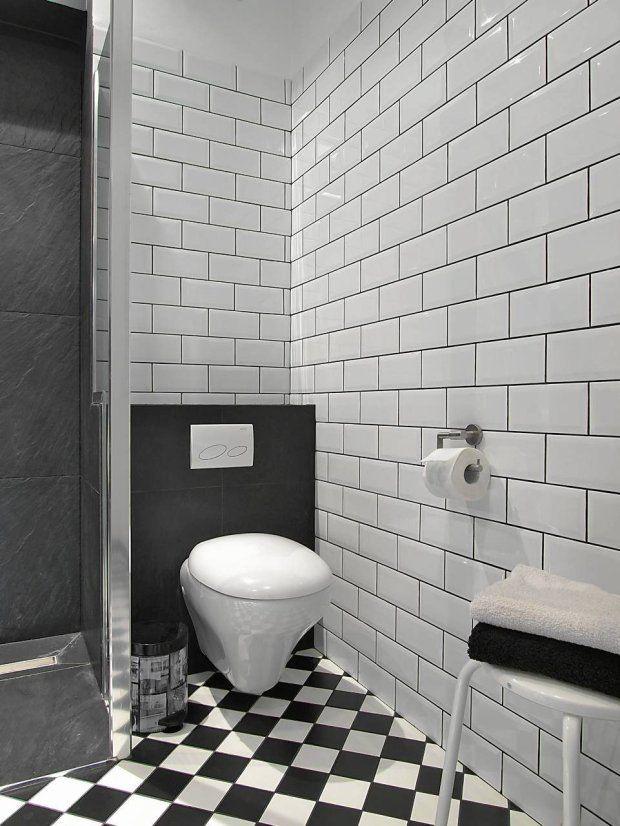 szare płytki w małej łazience - Szukaj w Google