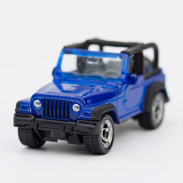 Ein Jeep ist nicht einfach ein Jeep. Ein Jeep ist die Ikone unter den Geländewagen. Und den gibt es natürlich auch von SIKU - http://www.echtkind.de/fahrzeuge/siku/siku-standard/siku-gelaendewagen-jeep-wrangler-1342.html