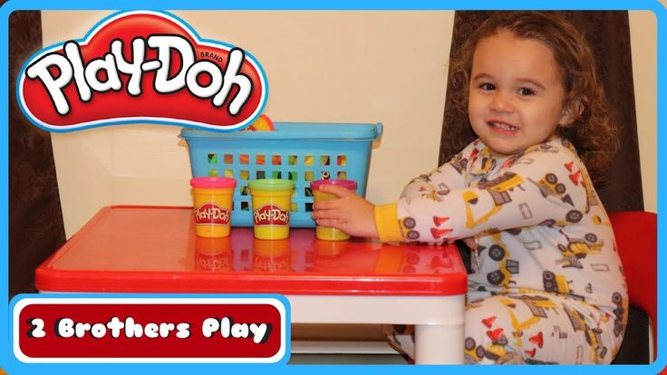 Play-Doh Playtime!!