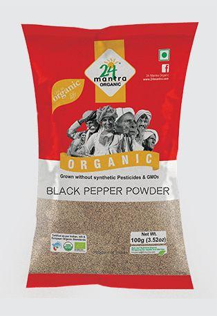 24 Mantra Organic Black Pepper Powder