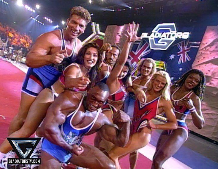 523 best Gladiators ITV - 1992 - 1999 images on Pinterest