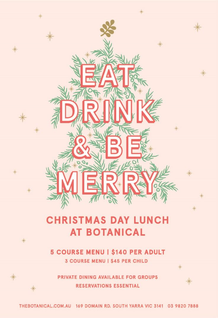 Due to popular demand, we are opening our doors once again to help you celebrate Christmas in style, with an indulgent five course luncheon in our Main Dining Room. visit or call us 03 9820 7888 for more information.