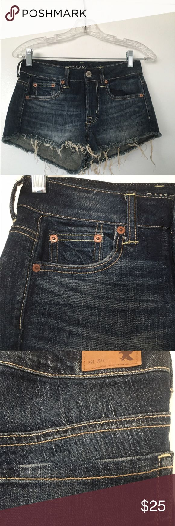 American Eagle Outfitters Jean Shorts American Eagle Outfitters Jean Shorts. Size 0. Great condition. American Eagle Outfitters Shorts Jean Shorts