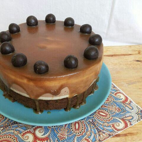 Кофейно-шоколадный чизкейк