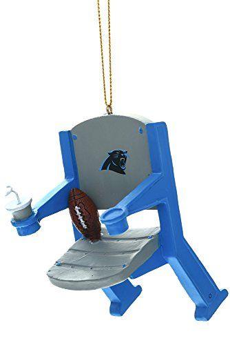 Carolina Panthers Stadium Chair Ornament