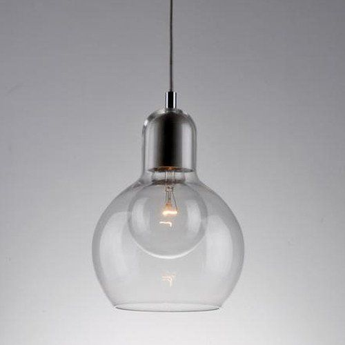 Decorative Clear Glass Pendant Light – Lighting Collective