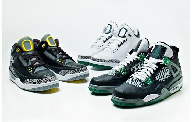 Air Jordan III & IV 'Oregon Ducks' Collection