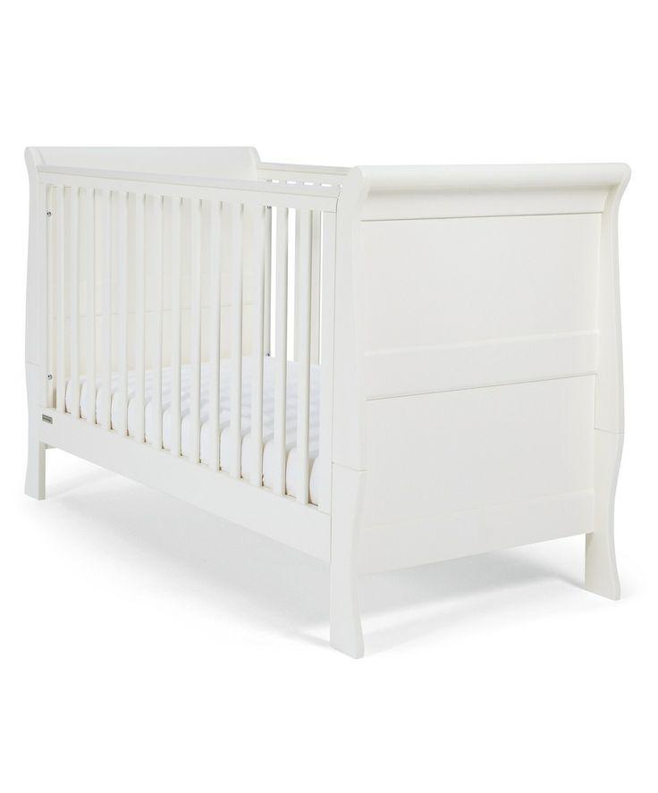 Mia Cot/Toddler Bed - White - Cot Beds, Cots & Cribs - Mamas & Papas