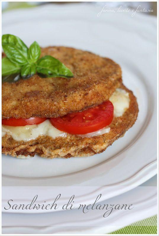 Farina, lievito e fantasia: Sandwich di melanzane
