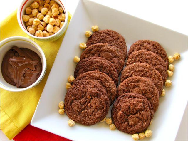 Susi's Kochen Und Backen Adventures: Nutella Chocolate Cookies