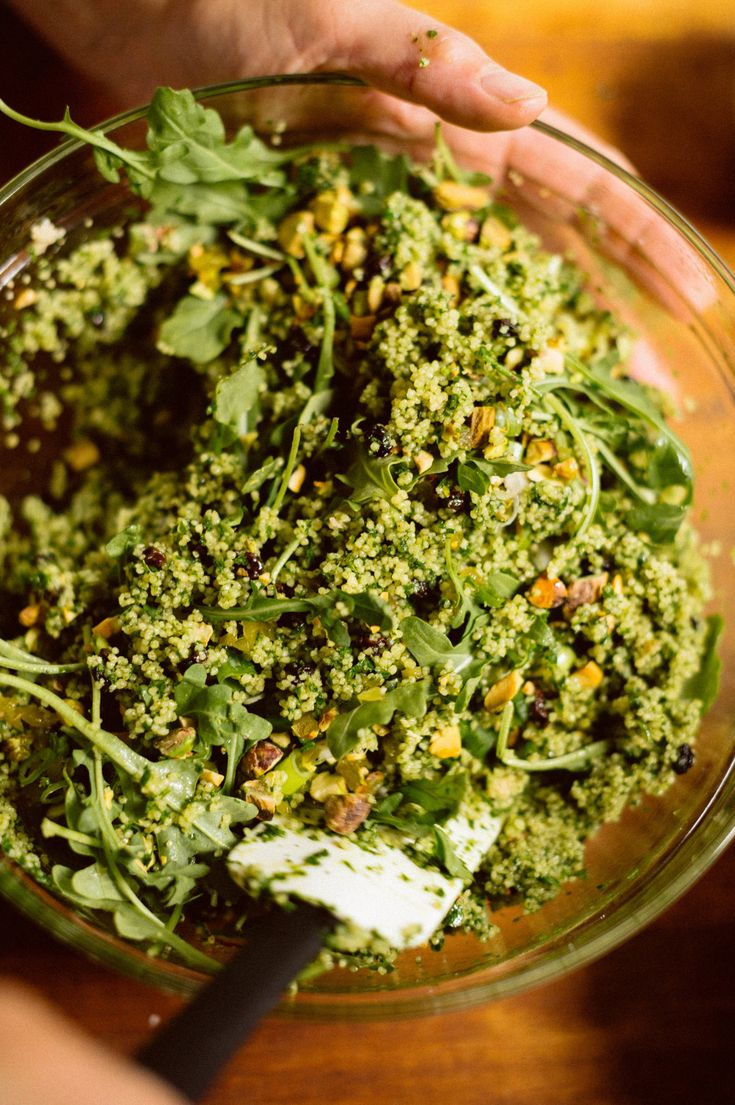 Herb-and-Pistachio Couscous Salad from Christopher Kimball's Milk Street