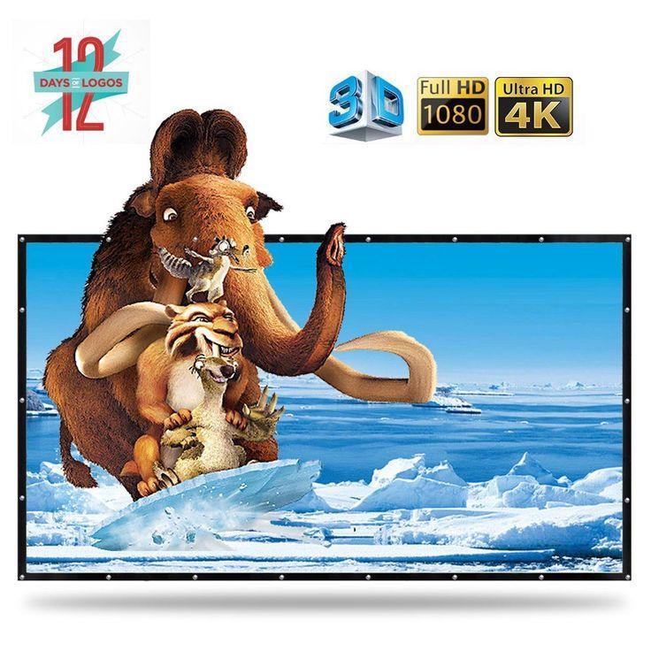 2. Top 10 Best Portable Projector Screens Review #portableprojectorscreen
