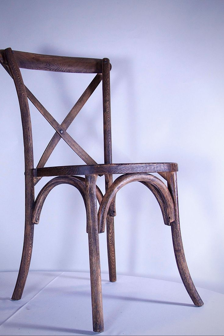 Rustic Crossback Chairs add simple natural elegance to your decor.
