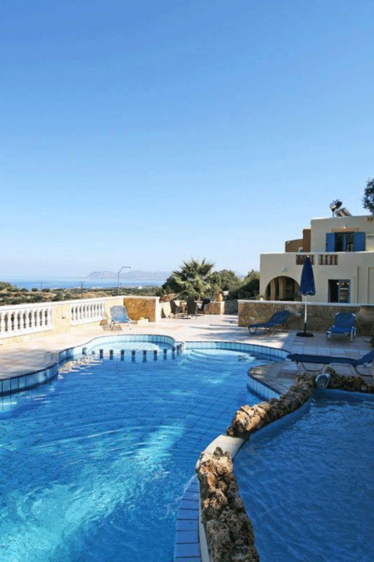 Villa Kalypso in Stalos, Chania, Crete