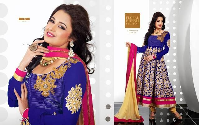 We have organized a collection of latest Bridal anarkali suits 2014 & anarkali clothing. The colors are beautiful and design are unique.