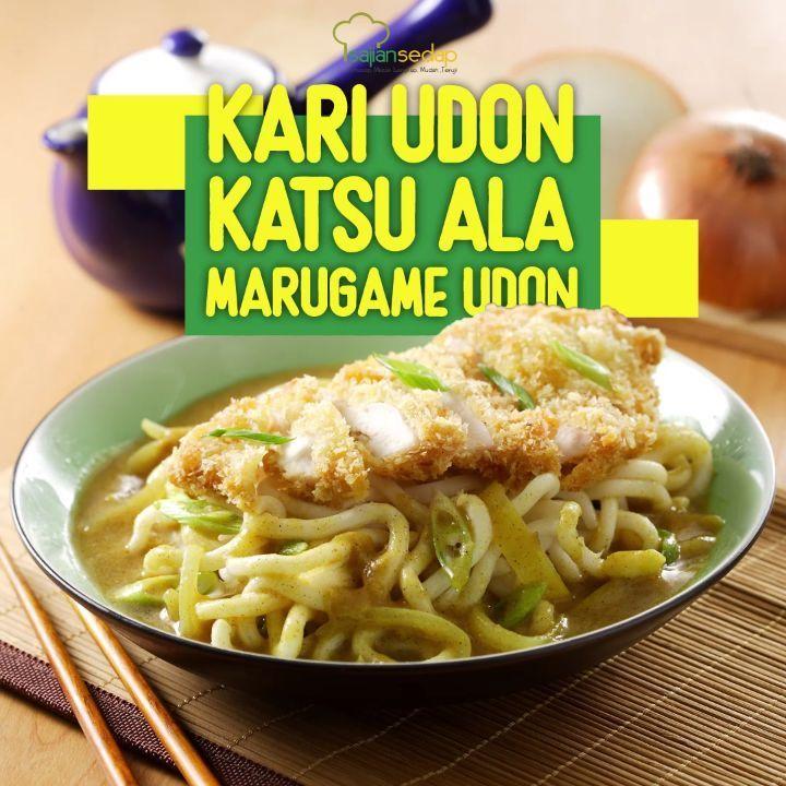 Kari Udon Katsu Ala Marugame Udon Engga Cuma Lebih Hemat Tapi Membuat Resep Kari Udon Katsu Ala Marugame Udon Ini Ternyata Engga