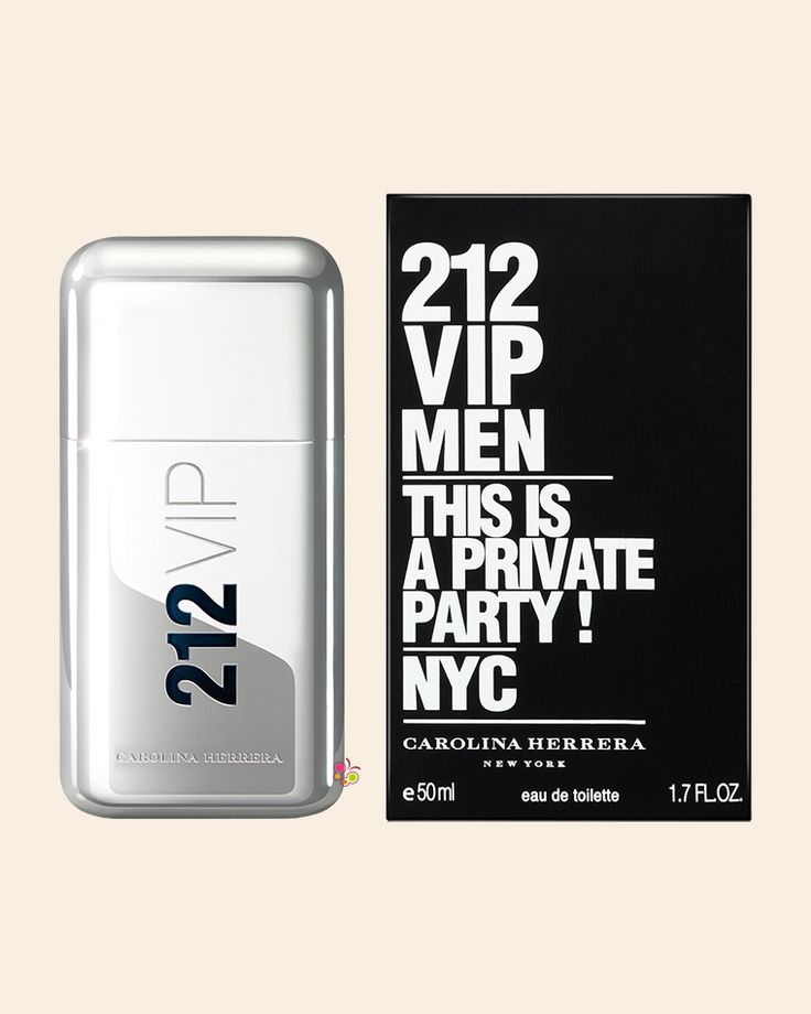 CAROLINA HERRERA 212 VIP Men Erkek Parfüm EDT 50 ml