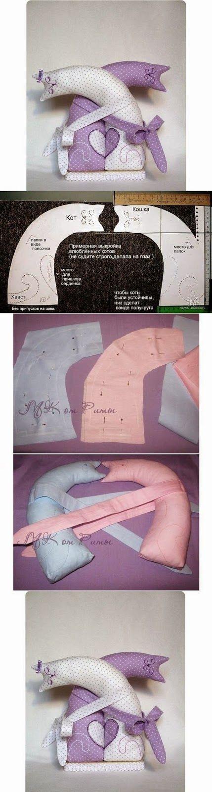 Fermaporta e pupazzi di stoffa fai da te - Tutorial e cartamodelli gratis