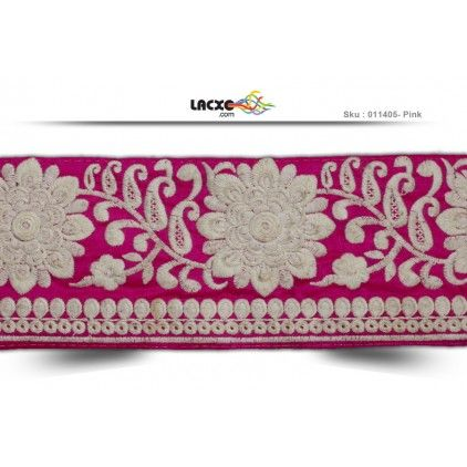 Plain Embroidery Lace - 011405 Rs1,125.00 / 9 Meter Roll
