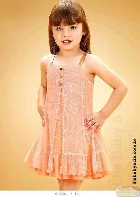 Vestido Infantil  Diforini                                                                                                                                                      Mais