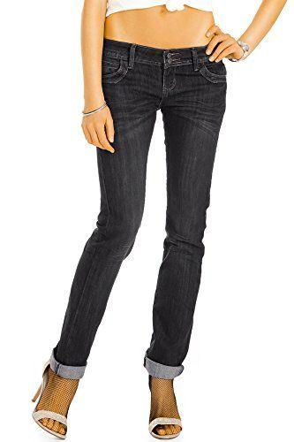 a2147aee8887 Bestyledberlin pantalon en jean femme jean slim fit taille basse j52i 36 S