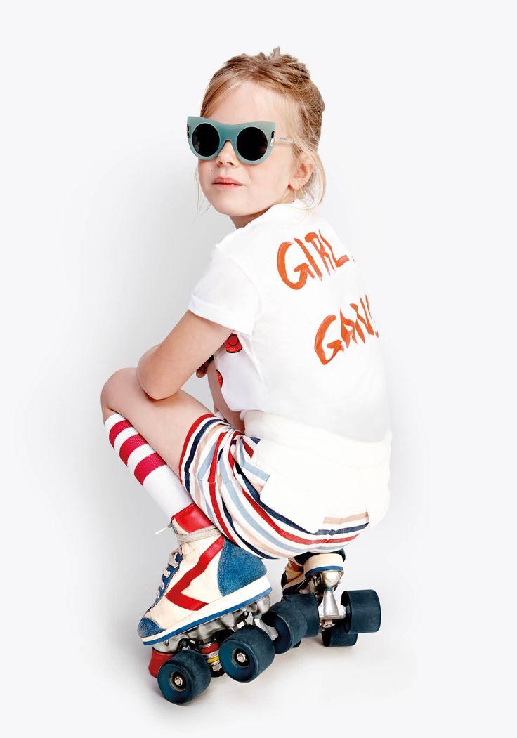 The Stella McCartney Kids SS15 Collection. #StellaKids