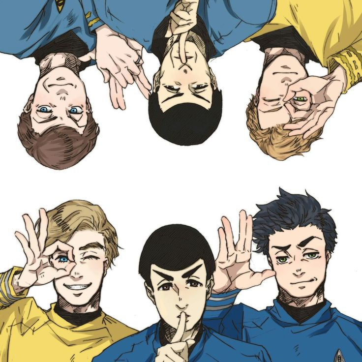 Leonard H. McCoy & James T. Kirk & Spock | McSpirk || Star Trek AOS, TOS