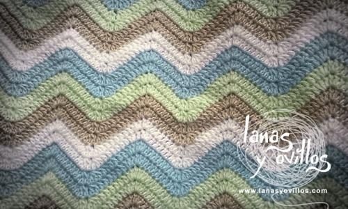 Manta zigzag patrón gratis: Crochet Blankets, Stitches Patterns, Crochet Chart, Blankets Patterns, Videos Tutorials, Baby Blankets, Crochet Step, Manta Zig, Free Patterns