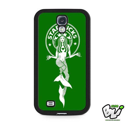 Green Starbuck Coffee Logo Samsung Galaxy S4 Case