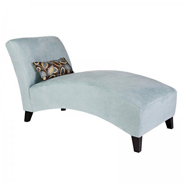 Microfiber Chaise Lounge $195