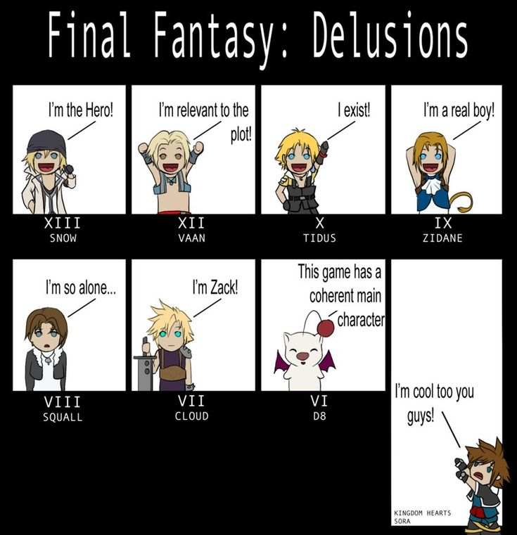 Final Fantasy: Delusions by Past-Chaser.deviantart.com on @DeviantArt