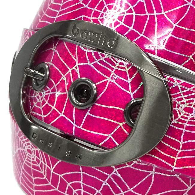 スパイダー ホログラム ピンク 39mm http://bahodesign.com/spider-158   #ゴルフ #ベルト #bahodesign #バホデザイン #バホ #日本 #大阪 #ホログラム #ミラージュ #ごるふ #亀谷産業