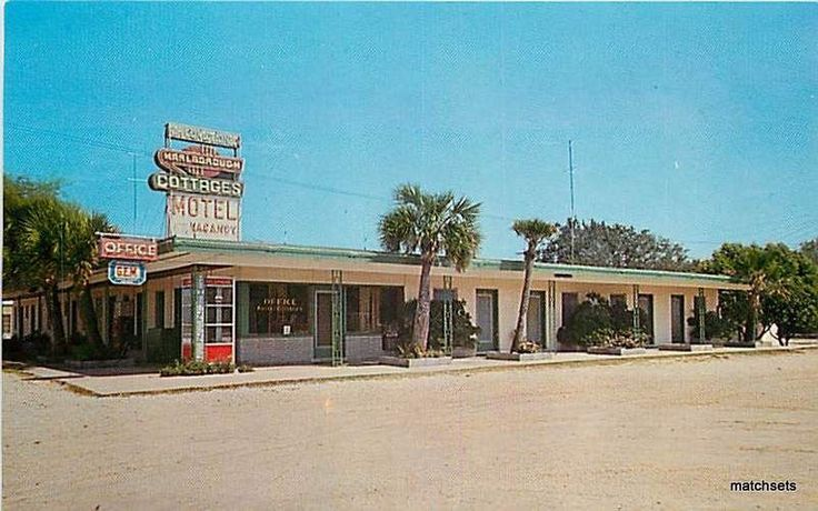 Destin Florida Marlborough Cottages Motel Restaurant