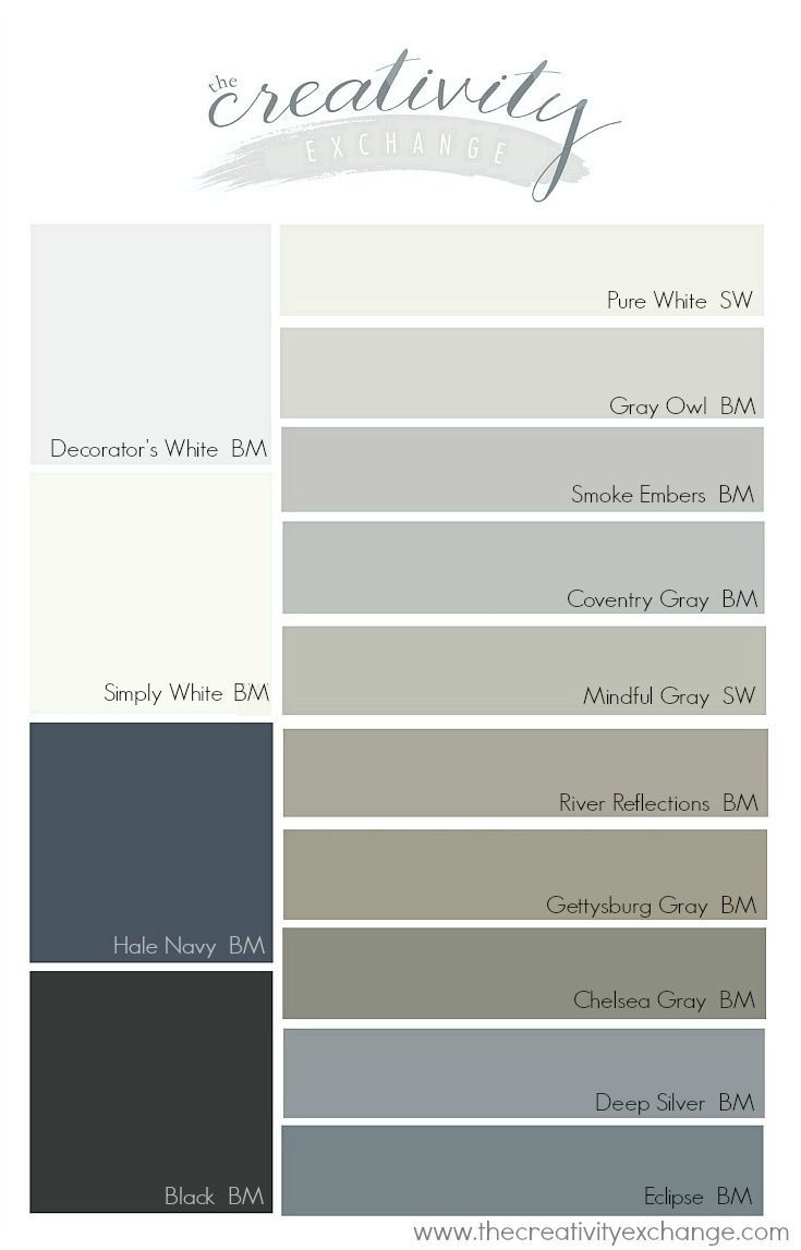 Popular And Versatile Cabinet Paint Colors For Kitchen, Bath And Built Ins.  The Creativity Exchange | Cabinet Paint Colors | Pinterest | Cabinet Paint  ...